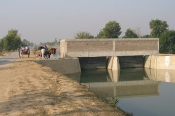 Pakistan is known for having the largest area under contiguous irrigation in the world, heavily dependent on the inflows into the Indus River system derived mostly from snowmelt in the western Himalayas.
